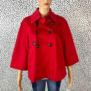 Nine West red jacket size medium Nwt